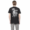 [NEIGE] R808 Deconstructed T-shirt Black