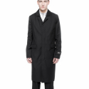 [NEIGE] R808 Deconstructed Coat Black