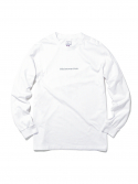 디스이즈네버댓() Reflective SP-logo L/S White