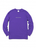 디스이즈네버댓() Reflective SP-logo L/S Purple