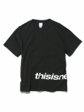 디스이즈네버댓(THISISNEVERTHAT) H-SP-Logo Tee Black
