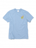 디스이즈네버댓() Palm Tree Tee Sky Blue