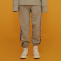 딤에크레스(DIM. E CRES) D.E.C TAPE JOGGER PANTS_GREY