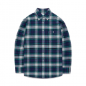 비바스튜디오(vivastudio) TARTAN CHECK SHIRTS GS [PURPLE]
