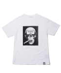 헤비스모커(HEAVYSMOKER) Smoking Scull T-shirt