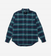 B MOVE CHECK SHIRT - GREEN