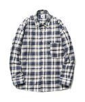Madras Check Shirts Navy