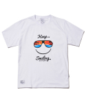 파라다이스 비치(PARADISE BEACH) 2017 KEEP SMILE T-SHIRT (WHITE) [PT021F23WH]