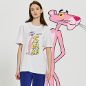 [Pink Panther] Slam S/S T-shirts(White)