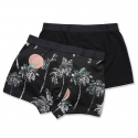 위에스씨(WESC) (H1)Stan Hawaii 2-pack(mens underwear.black)