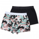 위에스씨(WESC) (H1)Stan Camo 2-pack(mens underwear.black)