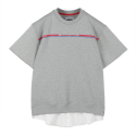 오디너리피플(ordinarypeople) ORDINARY SHORT SLEEVE LAYERED MTM GERY SHIRT