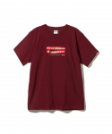퍽트 에스에스디디(FUCT SSDD) FUCT SSDD / OUR PLEASURE TEE / BURGUNDY