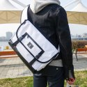 에이비로드() Basic Messenger Bag [PU Coated] (white)