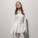 일일오구스튜디오(1159STUDIO) MH1 1159 TRENCH SHIRTS_WHITE