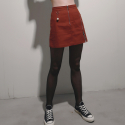 일일오구스튜디오(1159STUDIO) MH1 POINT ZIPPER SKIRT_PINK