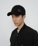 로우 투 로우(RAW TO RAW) bonded jersey side wapen ball cap(black)