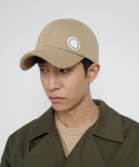로우 투 로우(RAW TO RAW) bonded jersey side wapen ball cap(beige)