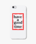 해브 어 굿 타임(HAVE A GOOD TIME) Frame iPhone Case - White