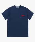 해브 어 굿 타임(HAVE A GOOD TIME) Arch Logo S/S Tee - Navy