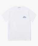 해브 어 굿 타임(HAVE A GOOD TIME) Arch Logo S/S Tee - White