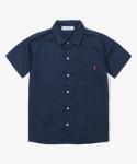 해브 어 굿 타임(HAVE A GOOD TIME) Cotton S/S Shirt - Navy