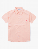 해브 어 굿 타임(HAVE A GOOD TIME) Cotton S/S Shirt - Peach
