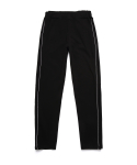 ZIP TRACK PANTS (BLACK)