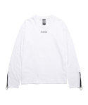 피피피(P.P.P) ZIP UP LONG SLEEVE (WHITE)