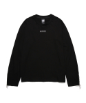 피피피(P.P.P) ZIP UP LONG SLEEVE (BLACK)