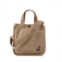 캉골(KANGOL) Canvas Tote Bag Mini 3727 BISCUIT