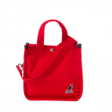 캉골(KANGOL) Canvas Tote Bag Mini 3727 RED