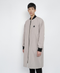 long sadhu blouson(warm grey)