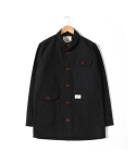 헨더(HANDER) SHAWL COVERALL JACKET [BLACK]