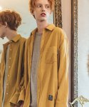 필루미네이트(FILLUMINATE) UNISEX Classic Linen Shirt-YELLOW