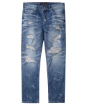 모디파이드() M#1248 distressed crop jeans