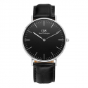 DW00100147 Classic Black Reading 실버 36mm