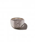 올드조(OLD JOE & CO) OLD JOE&CO / NADALL SQUARE SIGNET RING ENGRAVED / SILVER