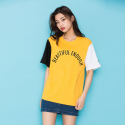 모티브스트릿(MOTIVESTREET) COLOR BLOCK SST YELLOW