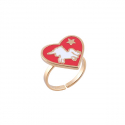 누누핑거스(NOONOO FINGERS) Red Noonicorn Ring