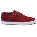 라카이(LAKAI) Camby Mid Chocolate 20Year - Red Suede