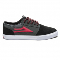 라카이(LAKAI) Griffin Chocolate 20Year - Black/Grey Suede