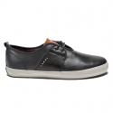 라카이(LAKAI) Albany - Black/Brown Leather