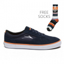 Parker Anchor - Navy Suede