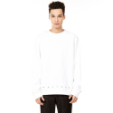 제너럴 아이디어(GENERAL IDEA) S7a05005 - Eyelet Point Sweat Shirt [White]