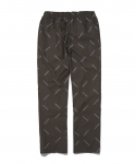 디스이즈네버댓() Rep-Logo Relaxed Pant Brown