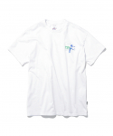 디스이즈네버댓() Tennis Player Tee White