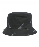 디스이즈네버댓() Rep-Logo Bucket Hat Black