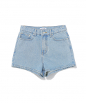 디스이즈네버댓() W Denim Short Light Blue