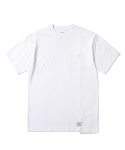 인사일런스(INSILENCE) Panelled Pocket Tee (White)